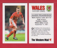Wales Mark Pembridge Everton